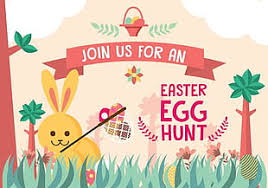 Easter Egg Hunt Kids Background Vector Svg Eps File Free