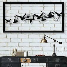 metal bird wall art metal wall decor