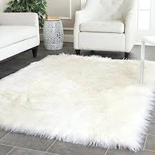 faux lambskin rug white faux sheepskin blanket faux fur rug rugs and carpets for living room