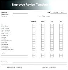 Construction Employee Review Template Construction Employee Review Template N Resource Performance