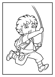 Small Picture Dora Coloring Pages Diego Coloring Pages