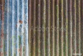 photo art print rusty corrugated metal sheet background texture europosters