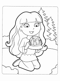 Friends Coloring Pages Free Printable Dora And Page Unique Pin