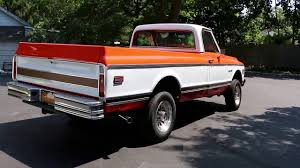 1972 Chevrolet K20 4x4 Custom Camper Edition Pick Up For Sale ...