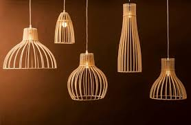 wood pendant ceiling light fixture phases africa