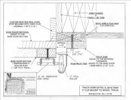 garage door framing detail operator prewire and guide with regard garage door framing detail strong garage