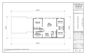 attractive design ranch house plans with finished basement home basements
