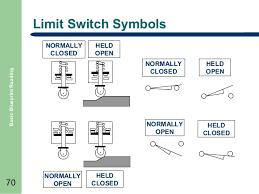 basic blueprint reading 70 limit switch symbols