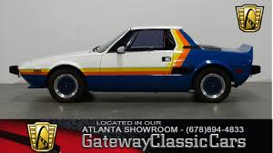 1973 Fiat X 1/9 | Gateway Classic Cars | 227