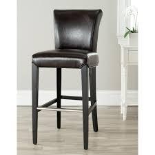 wood floor wall chair bar stools backs