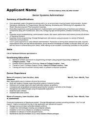 Systems Engineer Resume Sample Englishor Com