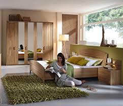 4 Tlg Schlafzimmer Wildeiche Teilmassiv