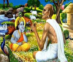 Image result for images of man praising lord krishna