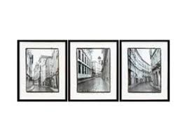 black and white wall art set
