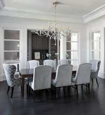 gray velvet tufted dining chairs with gray marble top grey dining room table and
