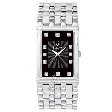 bulova diamonds 96d12 watches bulova men s diamonds watch
