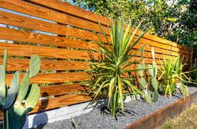 horizontal wood slat fence. Brilliant Horizontal Horizontal Wood Fence With Plants Around With Horizontal Wood Slat Fence O