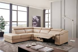 Leather Sectional Living Room 760 Sectional W Electric Recliner Leather Sectionals Living Room