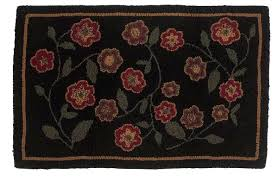 wool hooked rugs red flowers rug hooked wool hand hooked wool rug shedding
