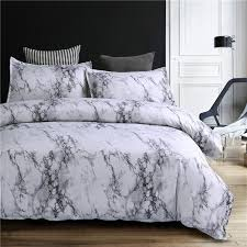 comforter sets double pertaining to marble pattern bedding duvet cover set pcs bed twin plans