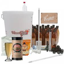home brew plete starter kit with coopers ginger beer