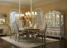 Good Michael Amini Lavelle Blanc Antique White Finish Dining Room Set AICO