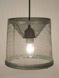 Diy Light Trap Pendant Light Repurposed From A Minnow Trap Reality