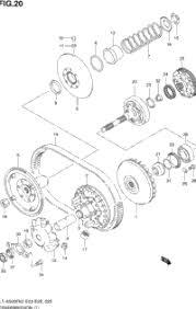2003 suzuki vinson 4wd lt a500f oem parts babbitts suzuki transmission 1