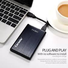 Black 1TB <b>2.5inch</b> Ultra-Thin <b>USB3</b>.<b>0 Portable</b> External Hard Drive ...