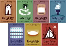 an attempt to redesign the covers of harry potter this is just for fun none of the book covers are real d
