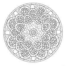 Mandala A Colorier Gratuit A Imprimer 7 Mandalas De Difficult