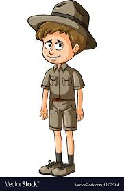 zookeeper pictures. Wonderful Pictures Zookeeper In Brown Uniform Vector Image On Pictures U