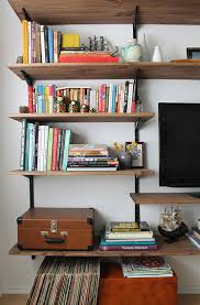 40 easy diy bookshelf plans guide patterns rh guidepatterns com make your own wall shelves make your own cat wall shelves