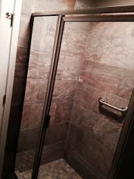 glass shower enclosure created and installed by glass graphics of atlanta
