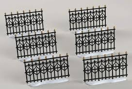 wrought iron fence victorian. General Village Accessories Victorian Wrought Iron Fence Extensions - No  Box By Department 56 Wrought Iron Fence Victorian A