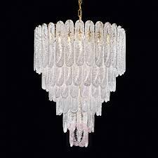 impressive chandelier pini made of murano glass 7014045 01