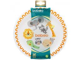 <b>Тарелка Baboo Safari</b> 6 меc+ оранжевый купить в детском ...