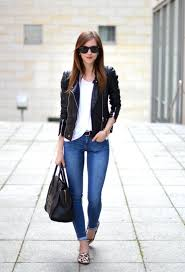 adorable black leather jacket outfit ideas that will make you look awesome 17 cute winter workwear outfits for women for elegant look