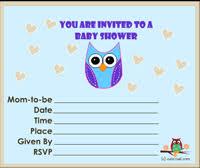 11 Free Printable Owl Baby Shower InvitationsOwl Baby Shower Invitations For Boy