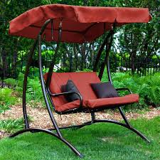 Replacement Porch Swing Cushions With Back Outdoor Backs Tar