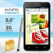 Alcatel onetouch Scribe Easy 8000D, Dual Sim, 5