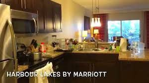 Marriott Two Bedroom Suite Marriott Time Share Orlando Harbour Lake Tour Youtube