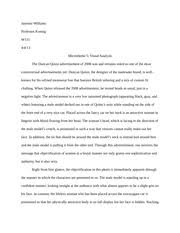 comparative analysis essay essay comparative analysis often  3 pages visual analysis essay