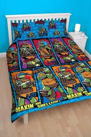 teenage mutant ninja turtles bed sets novelty bedding teenage mutant ninja  turtles urban double duvet teenage .