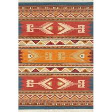 continental rug company lodge hand woven wool red orange area reviews teal red orange rug