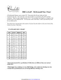 Bill Levkoff Size Chart Bill Archives Page 3 Of 4 Pdfsimpli