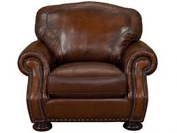 small leather chairs for small spaces. Small Comfy Brown Leather Chair With Nailhead Trim For Traditional Living Room Design Chairs Spaces H