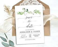 Save The Date Template Word Save The Date Card Template
