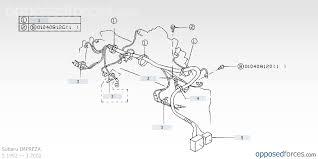engine bay wiring loom help what goes where subaru more info here