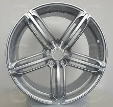 ALLOY WHEELS <b>WSP</b> W560 Silver 8,5X19 AUDI RS Q3 oem ...